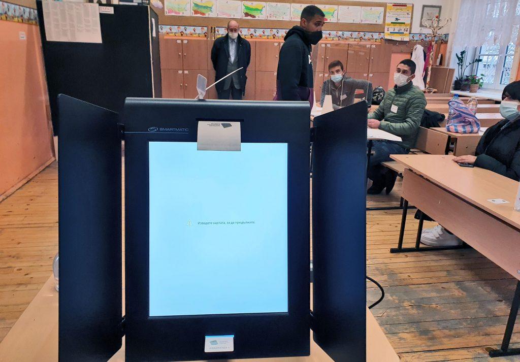 България показа най-малък процент излезли от строя машини за гласуване в света