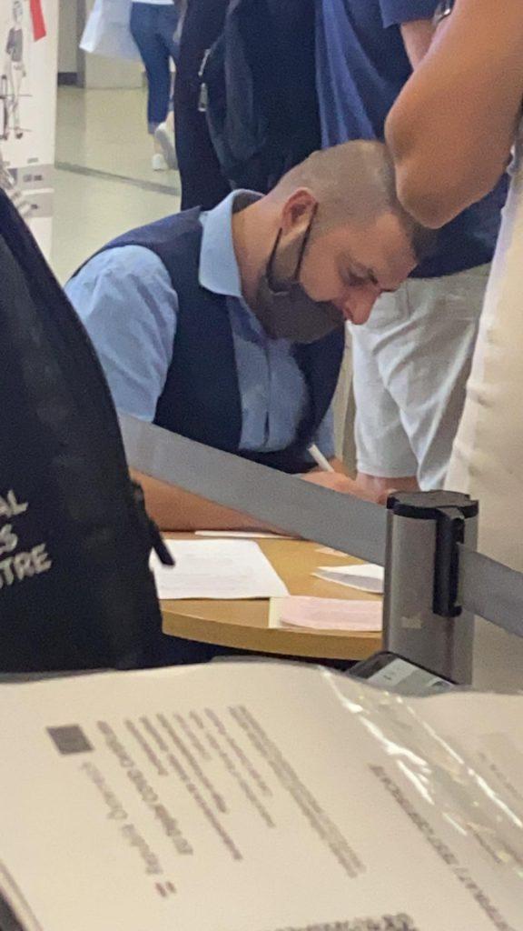 Отново се нарушават противоепидемичните мерки на летище София
