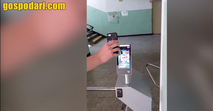 Български студенти лъжат термокамера в университета със селфита (видео)
