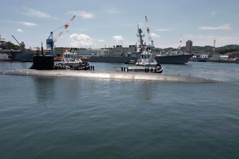 Ядрена подводница на САЩ се сблъска с непознат обект в Южнокитайско море