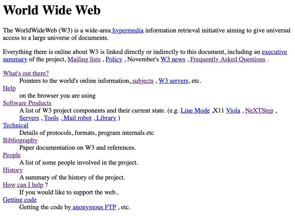 Все още можете да влезете в първия уебсайт, създаден преди близо 30 години